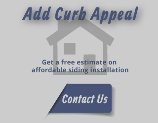 add curb appeal Get a free estimate on affordable siding installation contact us